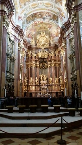 Church at Melk Abbey