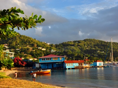 Bequia waterfront