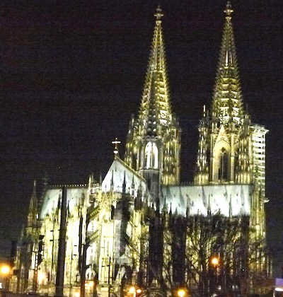 A magnificent cathedral was built to house the relics of the Three Wise Men.