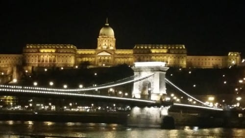 Chain Bridge and Parliament Building
