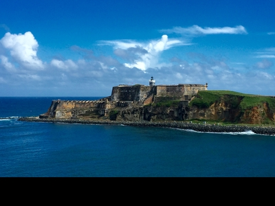 El Morro citadel marks the entrance to San Juan harbor