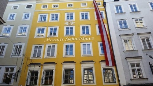 House where Mozart was born
