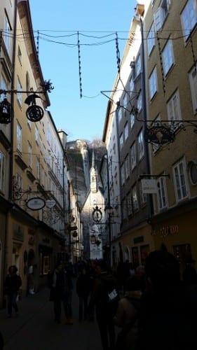 Salzburg street scene