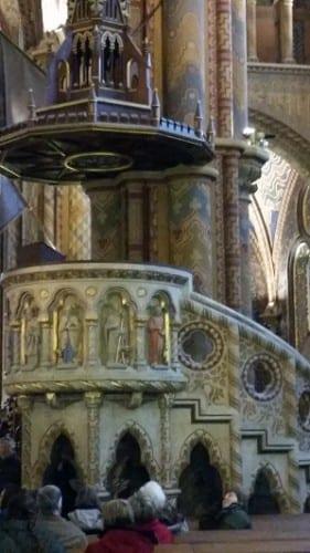 St Matthias Church pulpit