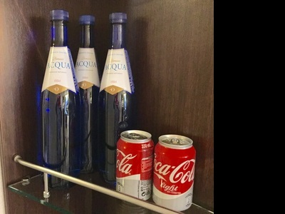 All bottled water, sodas and coffee drinks are included in your cruise fare.