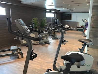 The Silver II boasts an exercise room.
