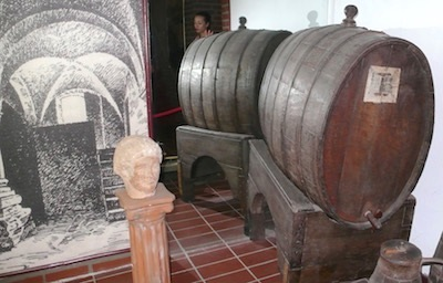 One barrel is all that remains of Farina's '12 disciples.'