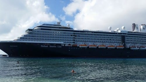 MS Westerdam, our home at sea