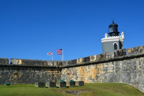 El Morro from the inside