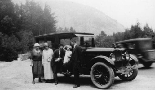 1925 First Tauck tour