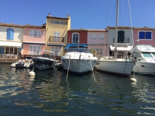 Canals of Port Grimaud
