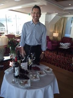 Christopher Silva leads Zinfandel tasting and blending seminar