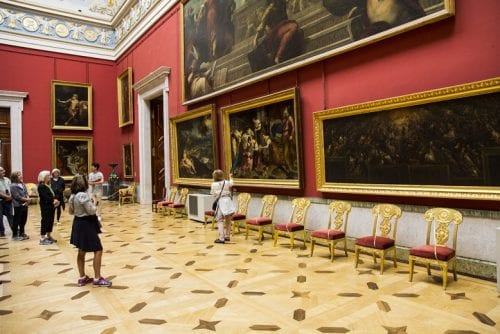 Created in 1764 by Empress Catherine the Great, St. Petersburg's Hermitage Museum remains one of the world's great art museums.