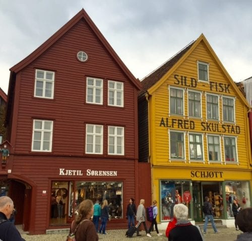 Bergen, Norway, is the home port of Viking Ocean Cruises