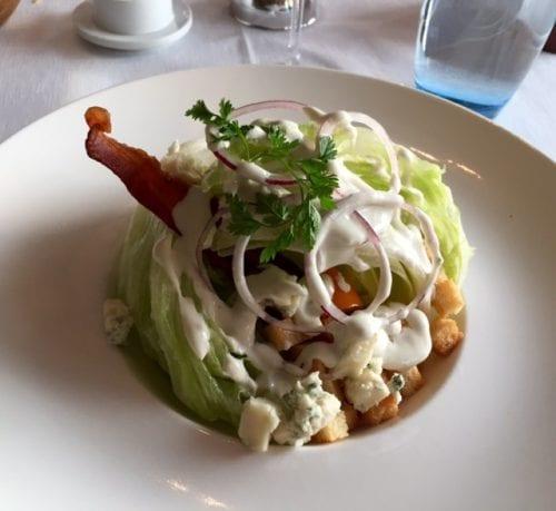 Fanciest wedge salad I've seen!