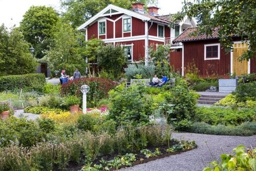 Skansen, the world's oldest outdoor museum, paints a picture of traditional life in Sweden, Stockholm, Sweden