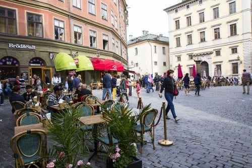 Gamla Stan, or Old Town, with its narrow, winding cobblestone streets lined with cafes, bars and boutiques, is Stockholm's most popular visitor attraction.