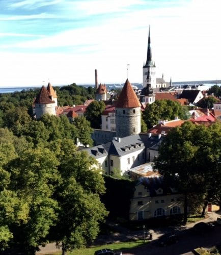 Old Town in Tallin, Estonia