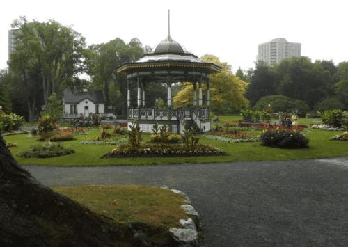 Public Garden in central Halifax