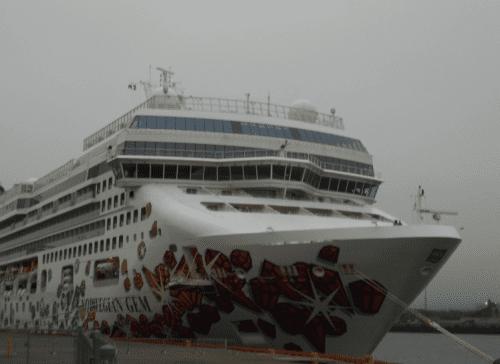 Norwegian Gem docked in St. John, New Brunswick, Canada