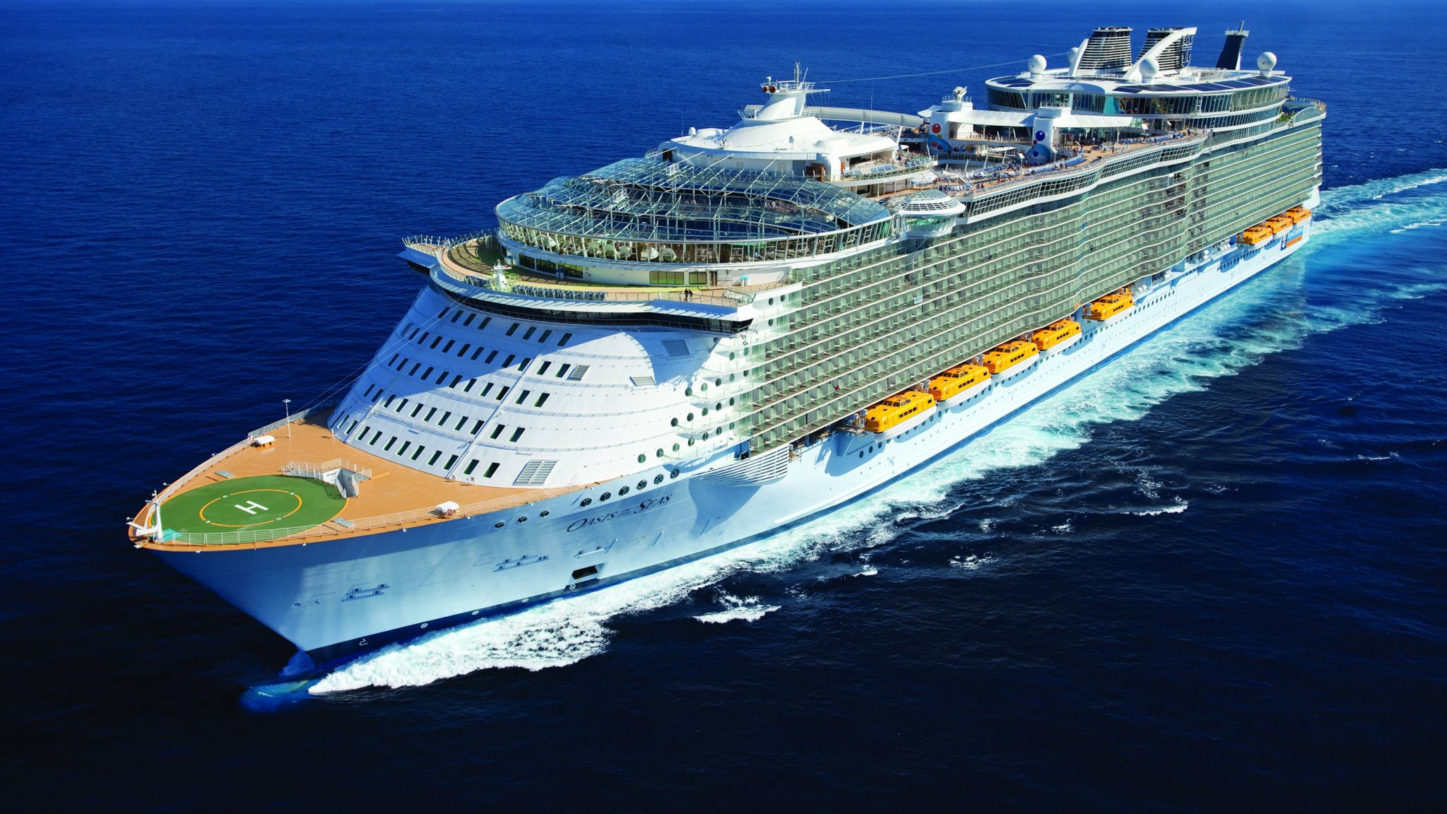 Royal caribbeans oasis of the seas joins canaverals home fleet royal caribbeans oasis of the seasflag ship of the worlds largest class of cruise vesselsjoins canaverals home fleet saturday nov 5 xflitez Images