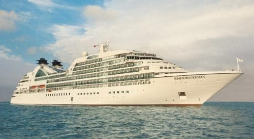 The Seabourn Odyssey carries just 458passengers