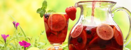 Sangria compliments of Viking River & Ocean Cruises & AllThingsCruise