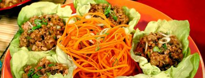 Chicken Lettuce Wraps compliments of Viking River & Ocean Cruises & AllThingsCruise