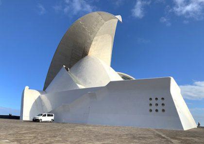 Visiting Santa Cruz: Calatrava Auditorium is Striking Tenerife Landmark