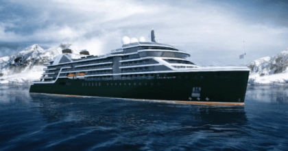 """Seabourn Names First New Ultra-Luxury Expedition Ship """"Seabourn Venture"""""""