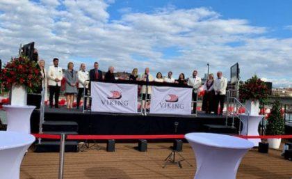 Viking Names Seven New River Ships in Impressive Ceremony