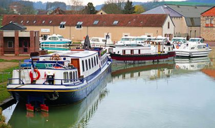 Cruising in France: Day 1 on the Burgundy Canal