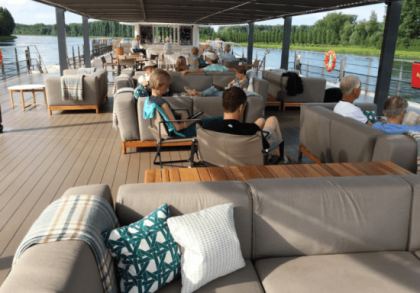 Ocean-going Crystal Cruises Slides Smoothly Into the Luxury Niche on Europe's Rivers