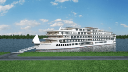 American Cruise Lines Names 4th Modern Riverboat AMERICAN MELODY