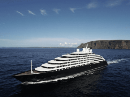 Scenic Eclipse Sets Sail on its Inaugural Voyage