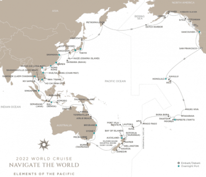 Regent Seven Seas Cruises®' 2022 World Cruise Sets Record For Most Bookings At Launch