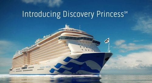Discovery Princess courtesy of Princess Cruises