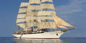 Sailing on the Sea Cloud with the rich and famous, since the 1930s ~ Spiffy ship tops cruising's wish list