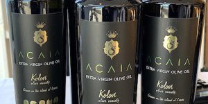 Astoria Cruise: Learning about special olive oil on Astoria cruise ship