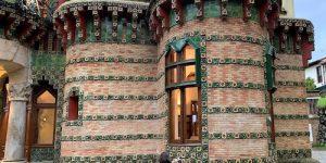Gaudí designs 'gaudy' bachelor pad in seaside Spain