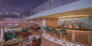 "Seabourn Offers More Details on ""The Club and Sky Bar"" for the Line's New Expedition Vessels, With Special Design Touches Inspired by Adventure"