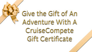 CruiseCompete Gift Certificate
