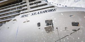 MSC TAKES DELIVERY FROM FINCANTIERI OF MSC SEASHORE