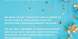 Congratulations! CruiseCompete Celebrates 18 Years