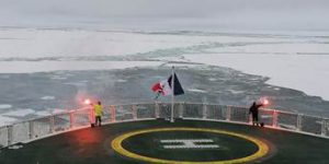PONANT's Le Commandant Charcot Reaches Geographic North Pole First Time