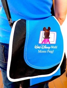 The Disney Moms panel bag is an eye catcher.