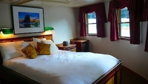 My cabin on the S.S. Legacy