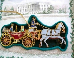 2001 White House Christmas Ornament.