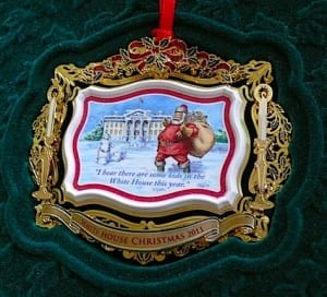 2011 White House Christmas Ornament