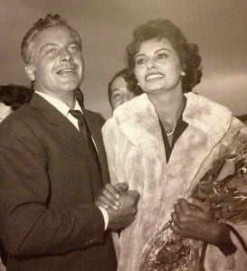 Sophia Loren smiles at a publicity outing.